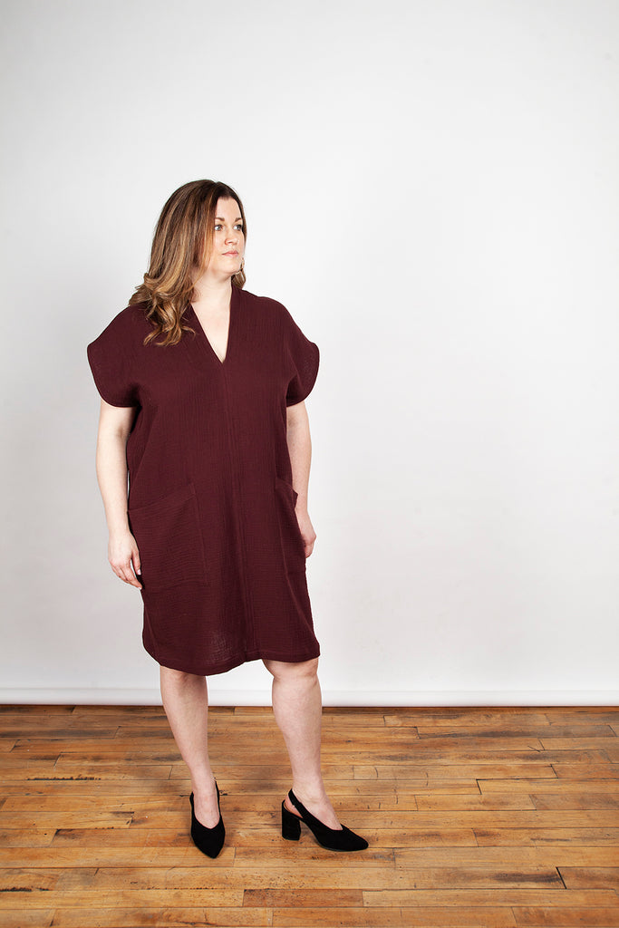 Ursa Minor - Genny Dress Garnet