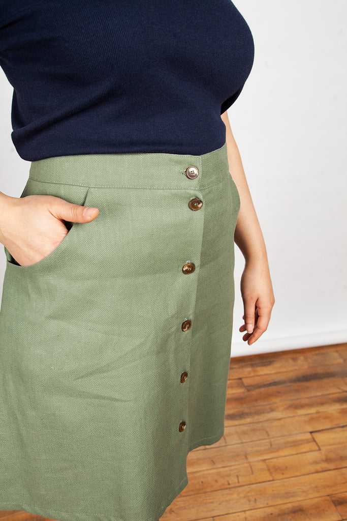 Meemoza – Lou Skirt Light Green