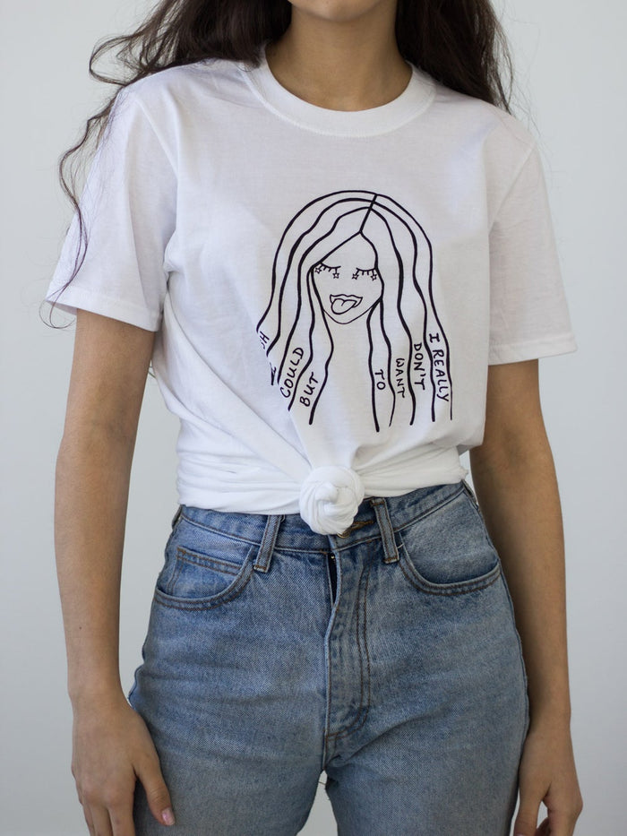 Slow Dog Designs – RSVP Tee White