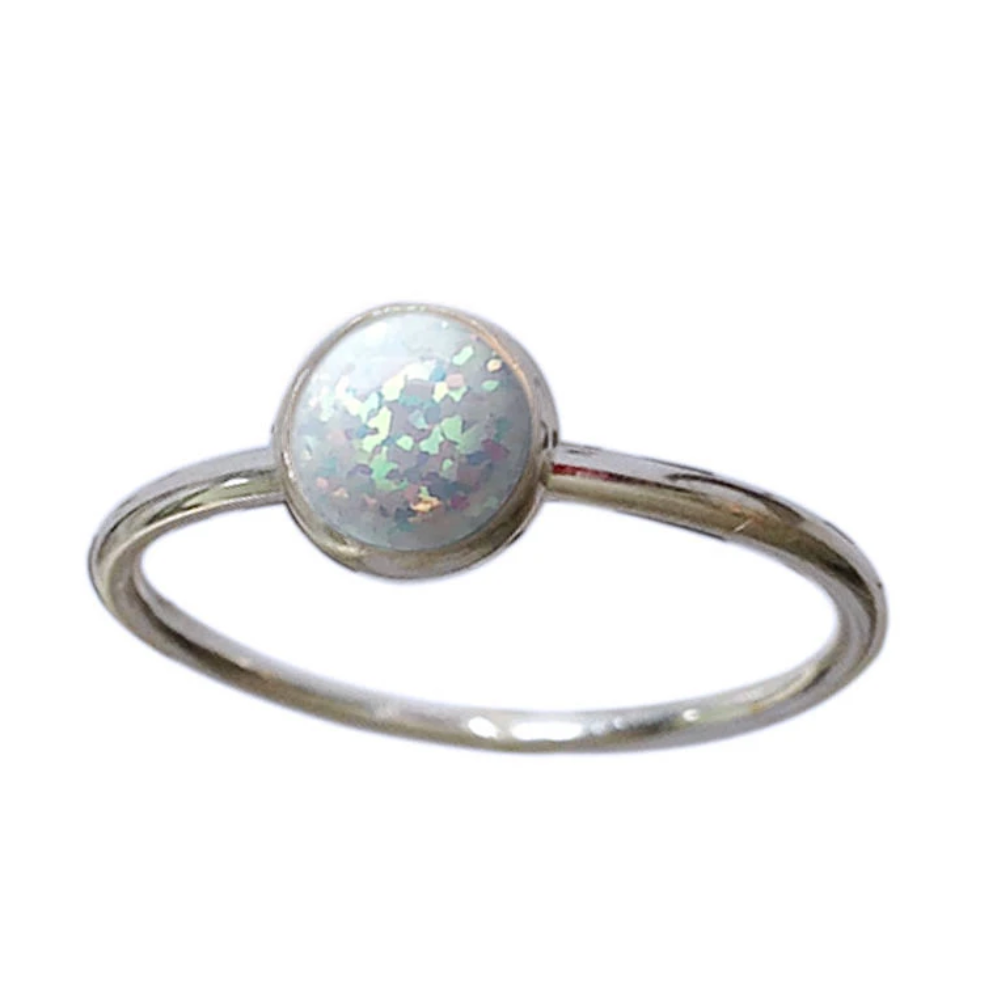 Strut Jewelry – Gemstone Stacking Ring Sterling Silver