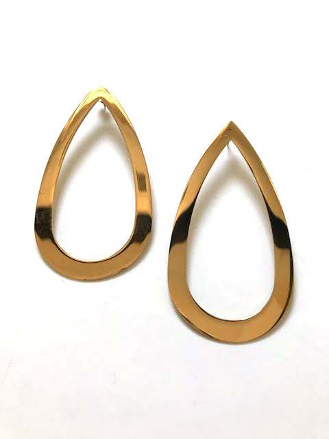 Haarstick – Statement Teardrop Earrings