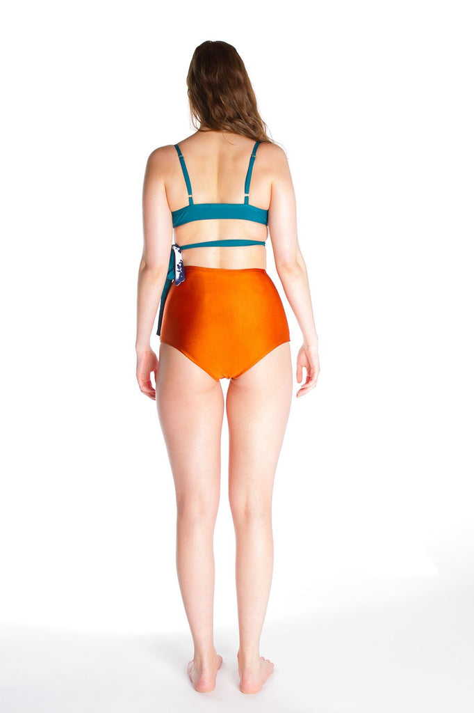 Selfish Swimwear - Florence Bottom Bronze