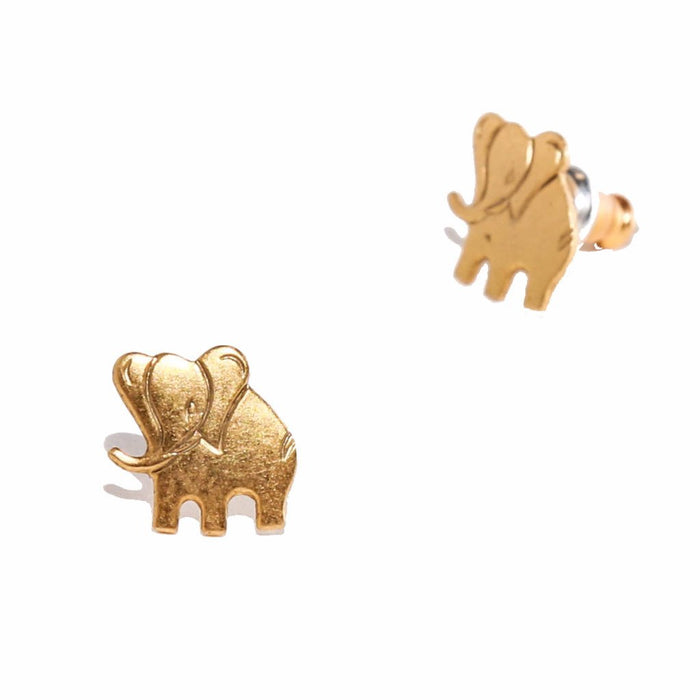 Tilly Doro - Elephant Stud Earrings