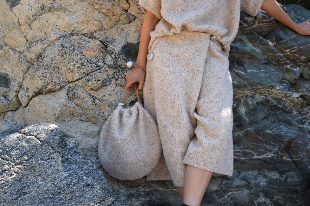 Jujumade – Circle Tote Fleece