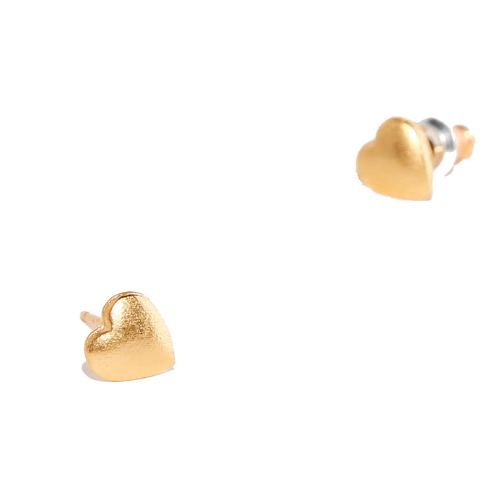 Tilly Doro - Heart Stud Earrings