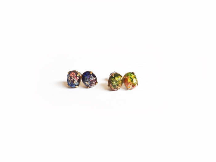 Fancy Pop - Galaxy Stone Resin Earrings