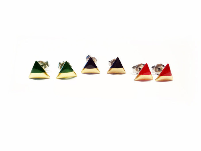 Fancy Pop - Triangle Earrings