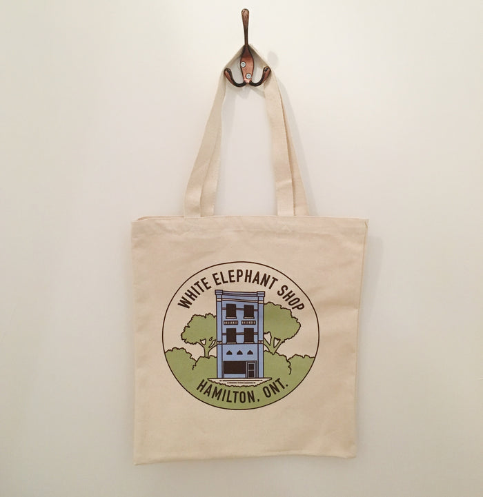 White Elephant - 10th Anniversary Tote Bag