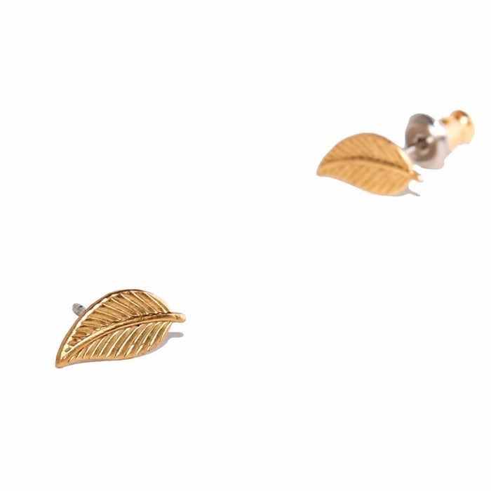 Tilly Doro - Leaf Stud Earrings