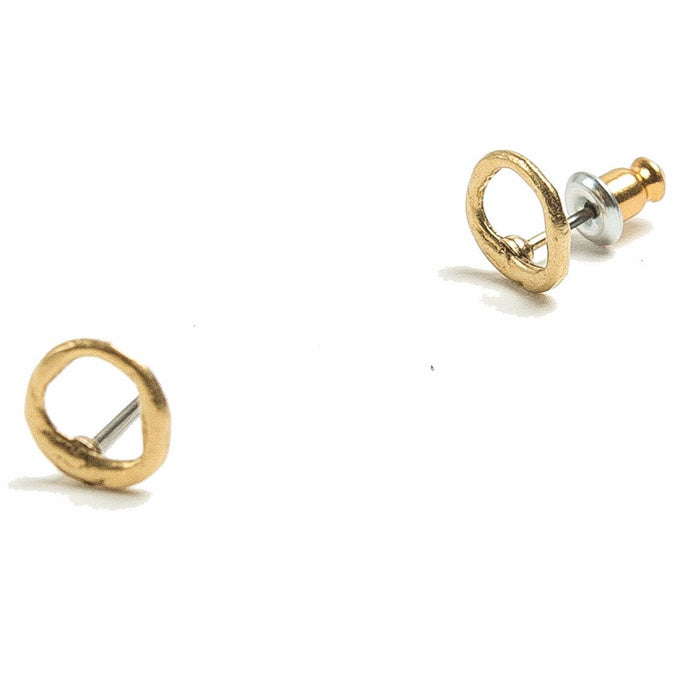 Tilly Doro - Open Circle Stud Earrings