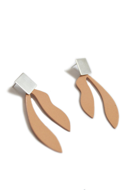 Natalie Joy - Palm Earrings - Silly Putty