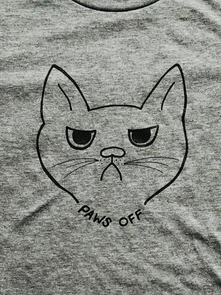 Slow Dog Designs – Paws Off Tee