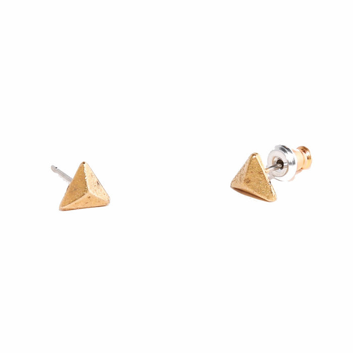 Tilly Doro - Pyramid Stud Earrings