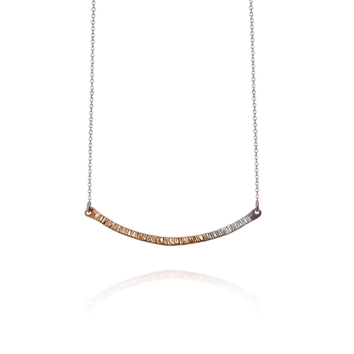 Strut Jewelry – Fusion Small Bar Necklace