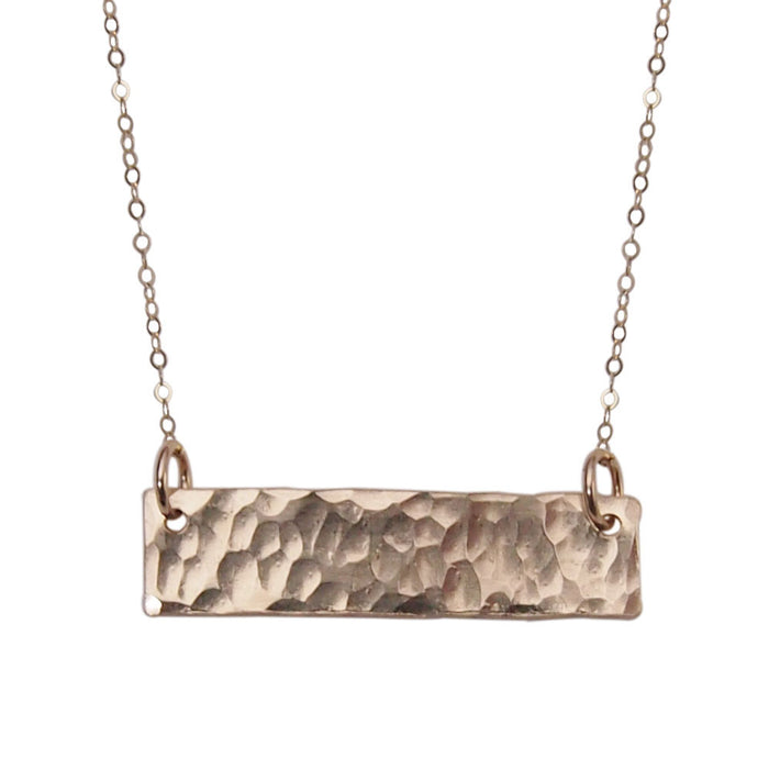Strut Jewelry – Bar Necklace