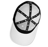 B-Epic New Era Structured Stretch Cotton Cap - White