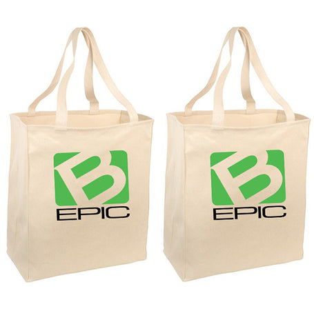 B-Epic Reusable Grocery Totes (2-pack)
