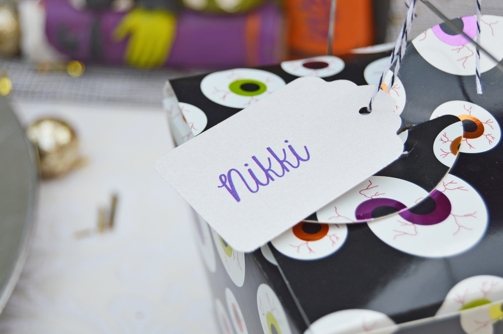 Halloween Party Name Tag Ideas