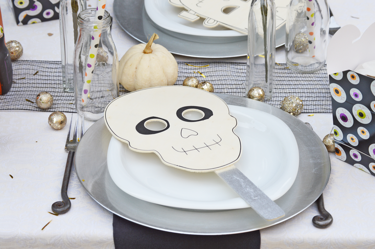 A Halloween Masquerade Tablescape