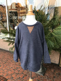 Kid's V-Neck Sweater w/Elbow Patches