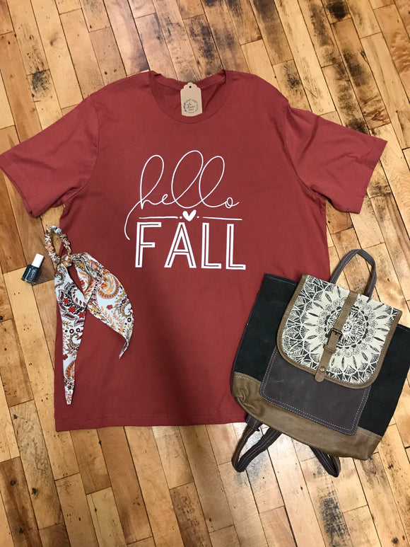*Hello Fall Graphic Tee
