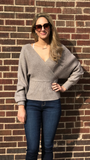 Soft Yarn Wrap Sweater