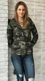 Zip Up Camo Jacket