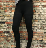 *Solid Brushed Ankle Length Leggings