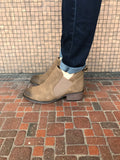 *Two Tone Slip On Booties