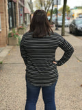 *Long Sleeve Striped Top