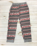 *Pattern Print Knit Jogger Pants w/ Pocket