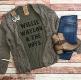 *Willie Waylon & The Boys Graphic Tee