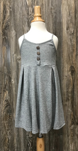 *Kids Sleeveless Ribbed Dress