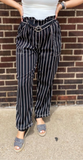*Striped Straight Leg Pants