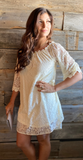 *Off The Shoulder Lace Dress