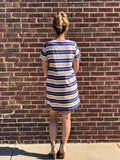 *Multi Stripe T-Shirt Dress