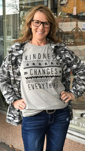 Kindness Change Everything Graphic Tee
