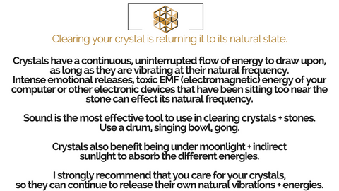 Crystal Care Guide – MettaBar