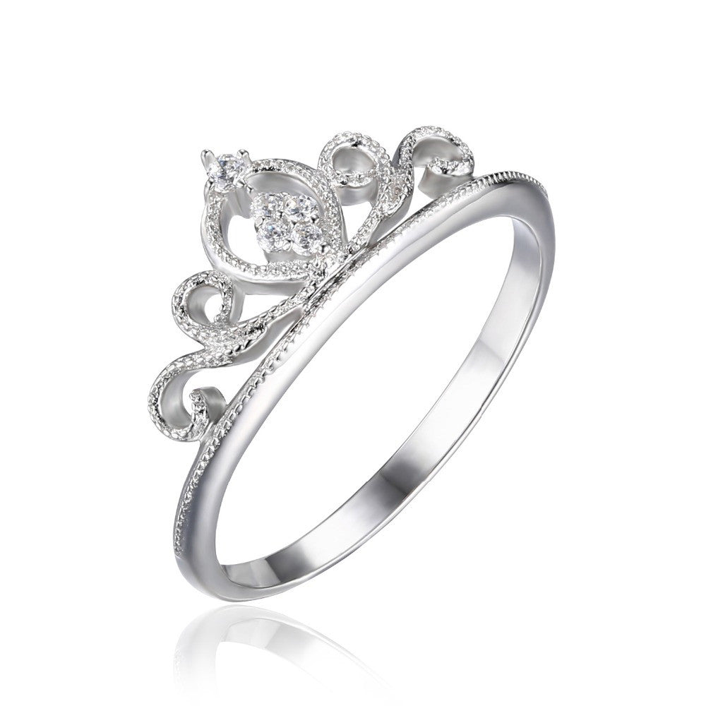 Crown Promise Ring