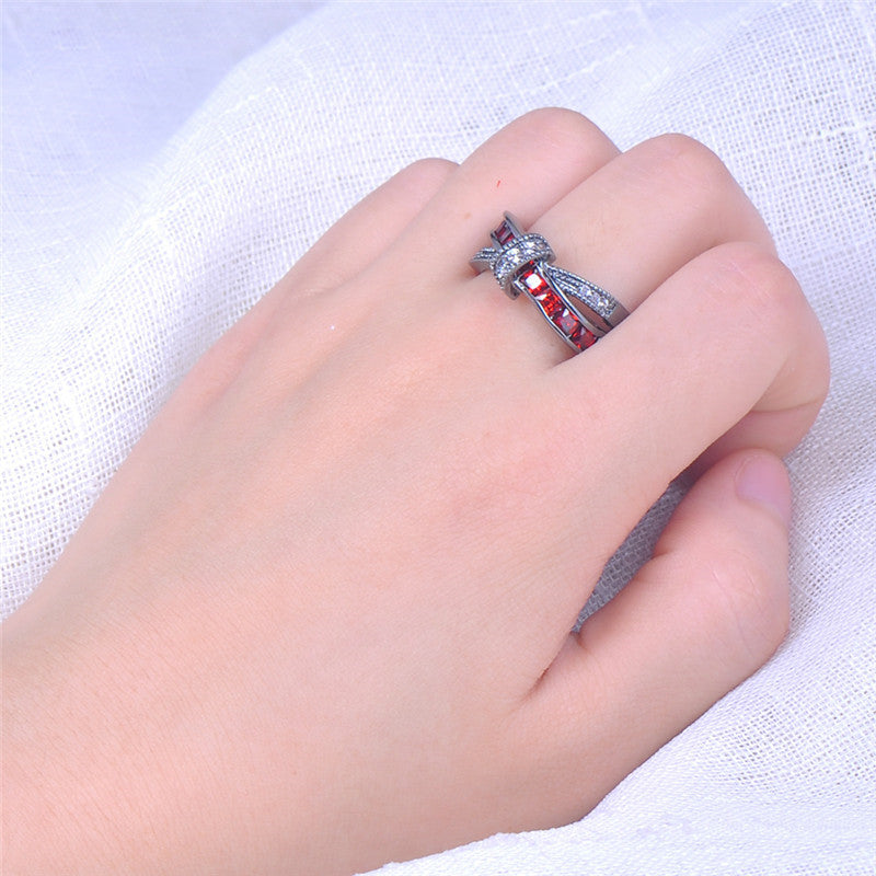 Unity Ruby Gemstone Ring