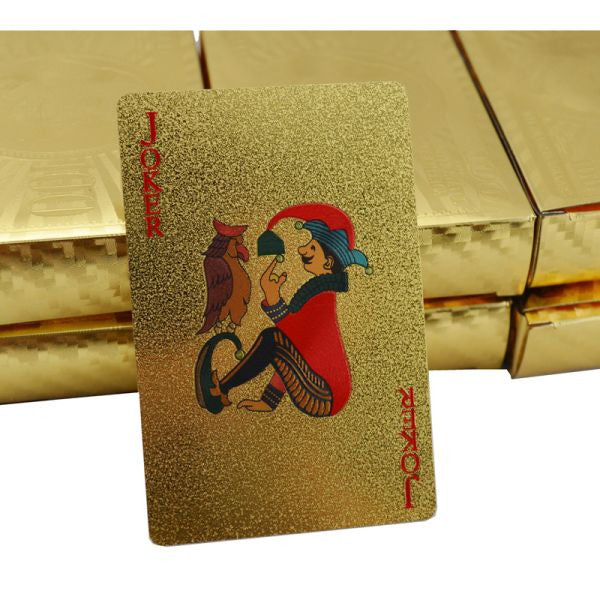 Free 24K Gold Foil Poker Playing Cards