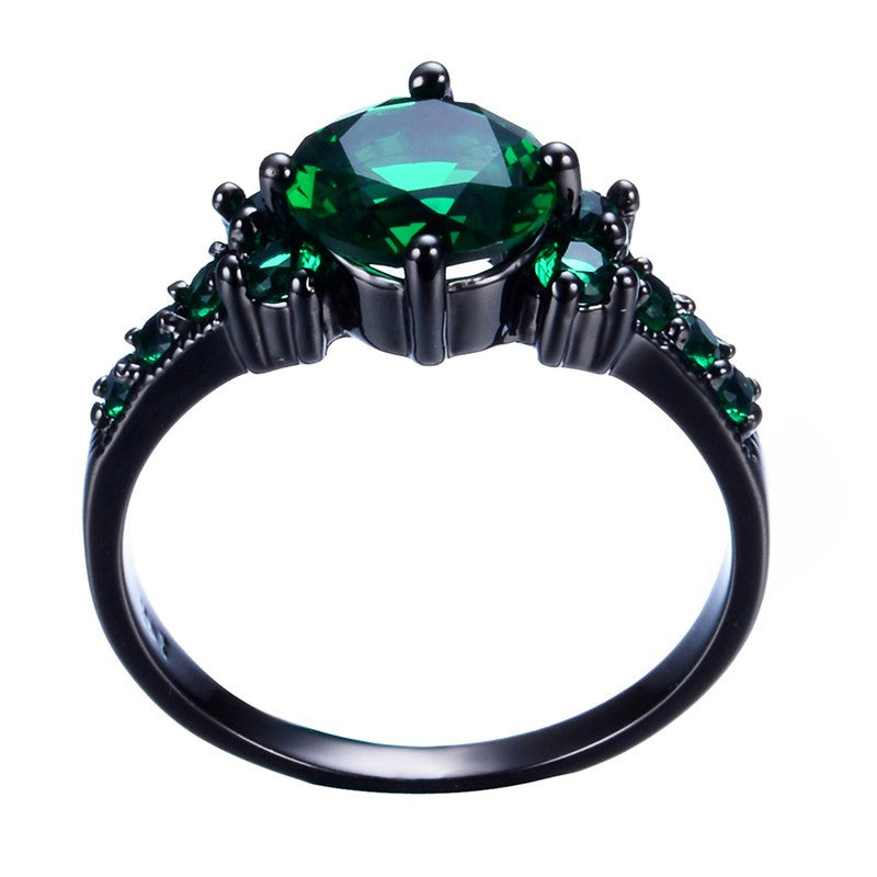 Vintage Emerald Gemstone Ring