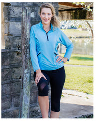 Stay Cool Long Sleeve Top & Mesh Sculpt Tights