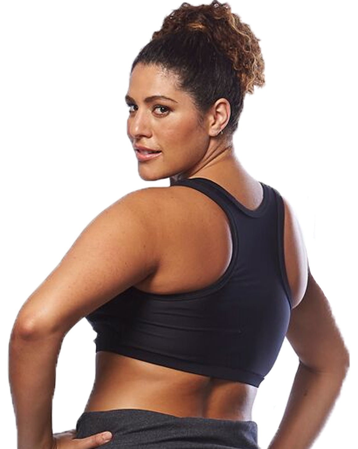 Plus Size Crop Top Back | Curvy Chic Sports | Activewear