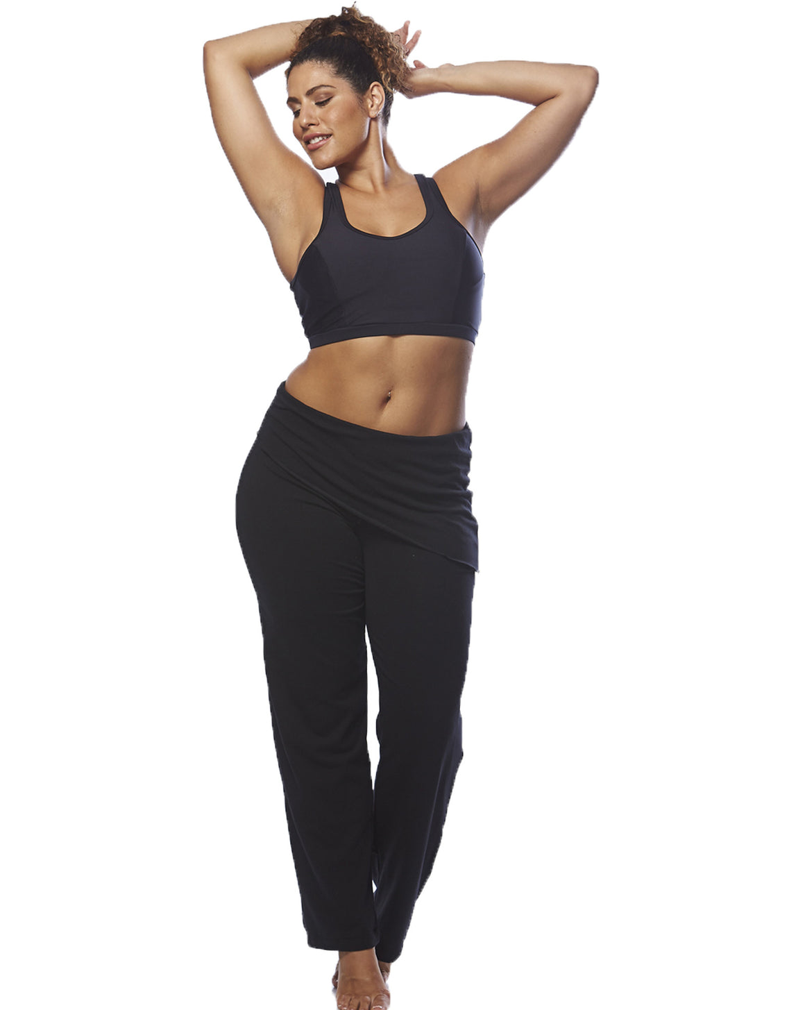 Asymmetrical Pants | Curvy Chic Sports | Yoga Pants