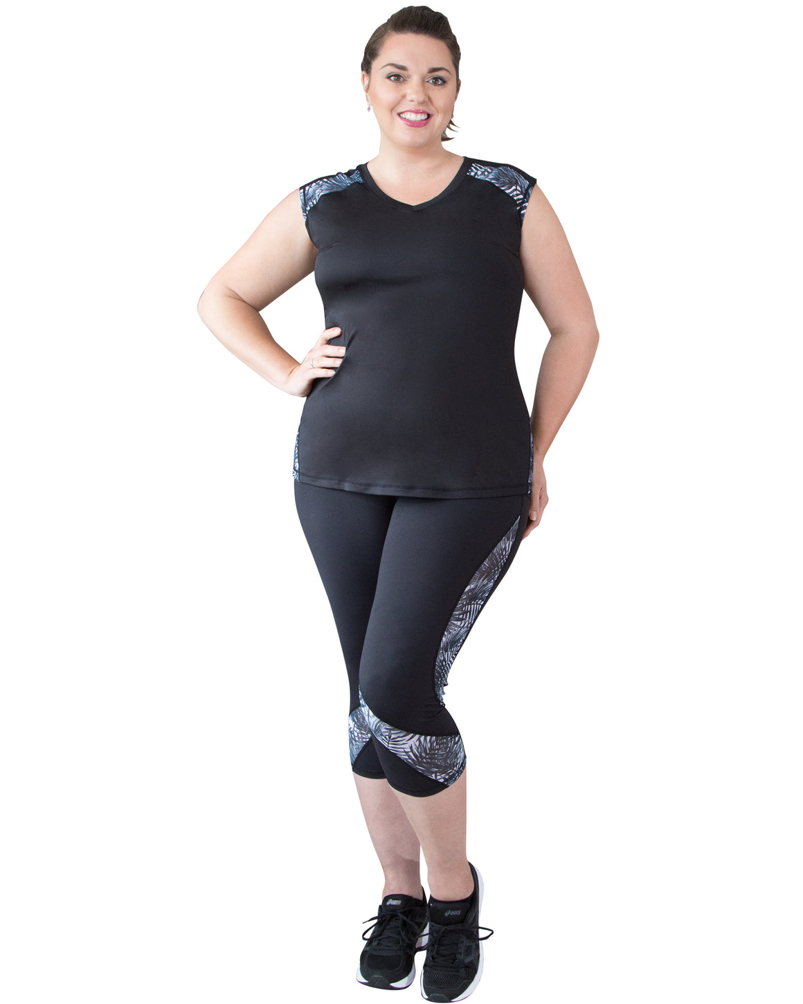 Andi Plus Size Sports Top | Curvy Chic Sports