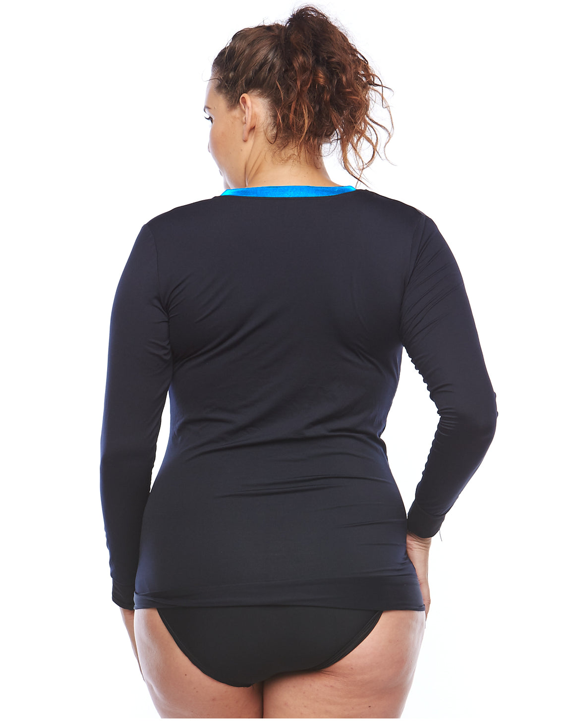 Sun Safe Plus Size Rashie | Curvy Chic Sports