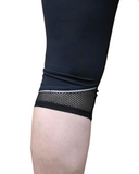 Mesh Cuff Detail on Mesh Sculpt Pocket Tights | Plus Size Tights