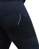 Thigh Pocket Detail | Mesh Sculpt Pocket Tights | Plus Activewear