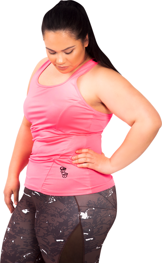 Active Back Tank  | Plus Size Activewear | Curvy Chic Sports